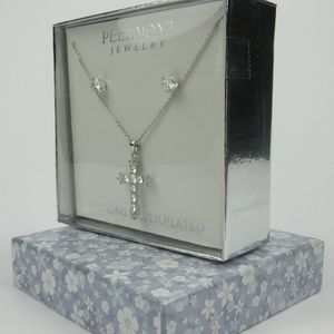 Peermont Jewelry - Peermont Jewelry Sterling Silver Cruz Necklace Set
